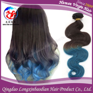 Body Wave Omber Colors Remy Virgin Brazilian Hair Weft (HSTB-A705)