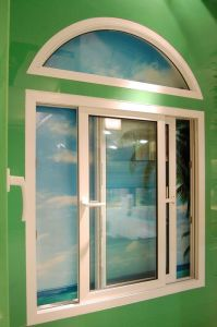 UPVC/PVC Casment Window with AS/NZS2208 pictures & photos