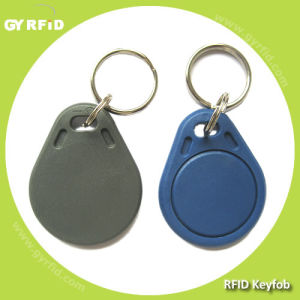 ISO14443A S50 S70 Ultralight Ntag203 Topaz RFID Keychain Key Card FOB Tag pictures & photos