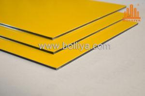 Unbroken Golden Mirror Interior and Exterior Wall Cladding Aluminium Composite Panel pictures & photos