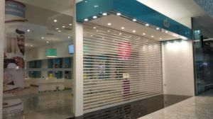 Commercial Transparent Polycarbonate Rolling Shutter Door pictures & photos