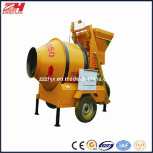 Portable Small Self Loading Concrete Mixer