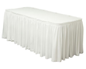Table Skirts, Table Cloth, Polyester Table Skirts