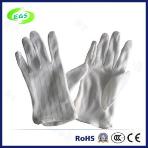 100% Cotton Fingertip Coating Spandex Cotton Knitting Gloves pictures & photos