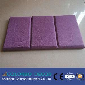 Acoustic Fabric Panel Cloth Ceiling Wall Decorative Acoustic Panel pictures & photos