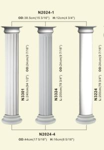 PU Roman Art Pillar Column for Decoration pictures & photos