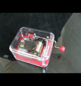 Standard Plastic Handcrank Music Box