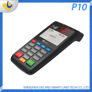 P10 Handheld POS Terminal with GPRS, Bluetooth pictures & photos