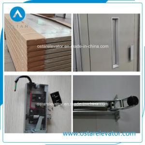 Elevator Door, Semi-Automatic Door for Small Loading Passegner Elevator pictures & photos