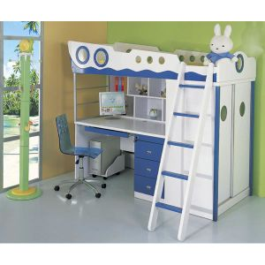 Child′s Bedroom and Kids′ Bedroom Bed with Stair (WJ277468) pictures & photos