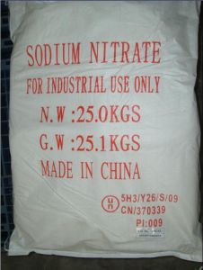 High Quality Sodium Nitrate Industrial Grade pictures & photos