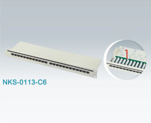 RJ45 CAT6 FTP Patch Panel (NKS-0113-C6)