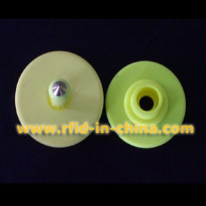 134.2kHz Round RFID Ear Tag (02) pictures & photos