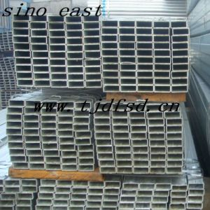 Square Steel Pipe-Galvanized Square Steel Pipe pictures & photos