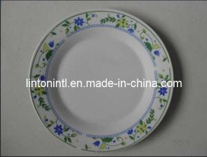 10.5 Porcelain Dinner Plate Full Decal