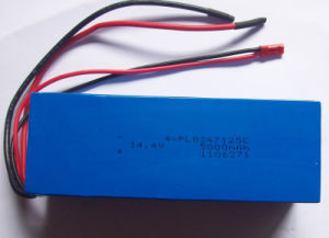 14.4V 5000mAh Li-Polymer Battery Pack pictures & photos