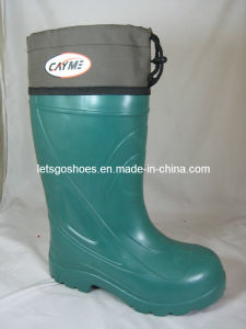 Extra Big Size EVA Boots with Fur with Cuf (21IH1301) pictures & photos