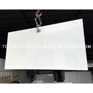 Cheap Price Natural Stone White Marble Slab for Paving, Patio pictures & photos
