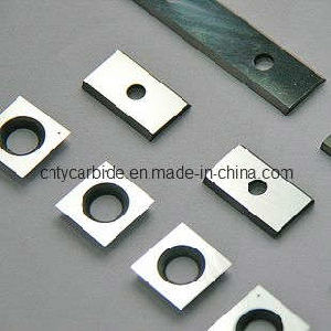 Good Performance Long Time Using Tungsten Carbide Reversible Knives pictures & photos