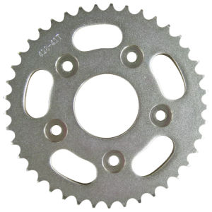 Motorcycle Sprocket/Rear Sprocket/Zinc/White pictures & photos