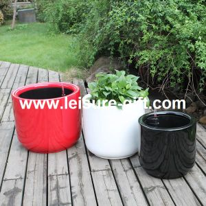 Fo-330 Fiber Glass Self-Watering Flower Pot pictures & photos