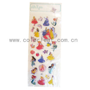 Epoxy Sticker In Princess Images (CYRESIN002)
