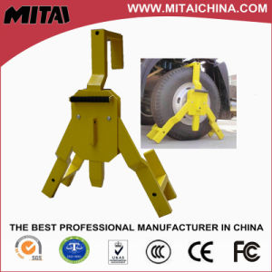 Huge Wheel Clamp with Alarm Installation Bracket pictures & photos