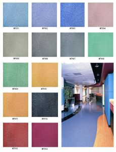 PVC Roll Commercial Flooring Office Using pictures & photos