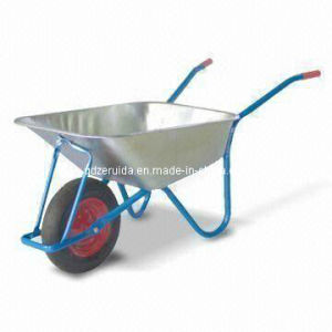 75L Water Capacity Galvanized Tray Wheelbarrow (WB5019) pictures & photos