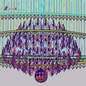 Hotel Project K9 Crystal Chandelier for Decoration pictures & photos