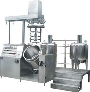 Stainless Steel Vacuum Emulsifying Machine pictures & photos