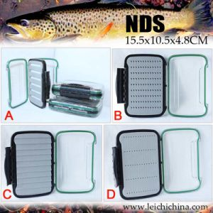 Double Side Clear Fly Fishing Box pictures & photos