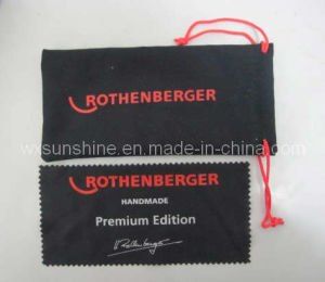 Microfiber Cleaning Cloth and Glasses Bag Combination (ES-010) pictures & photos