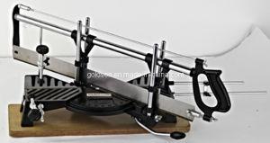 "Hand Miter Saw 550mm 24"" Double Bevel Wood Base Aluminium Handle (GW8027)"