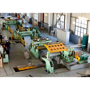 Roll Coil Slitting and Cutting Line ESL-3X1600 pictures & photos