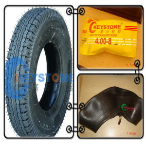 Tricycle Tire and Tube, Three Wheel Tire 4.00-8 8pr pictures & photos