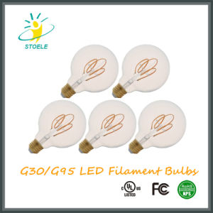 G30/G95 5W Dimmable LED Filament Bulb Retro Style pictures & photos