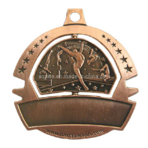 Zinc Alloy Sport Medal with Color pictures & photos
