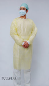 PP+PE Surgical Gown (F-304) pictures & photos