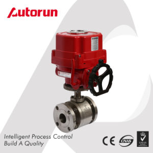 Anti Explosion Electrical Actuated Flanged Stainless Steel Ball Valve pictures & photos