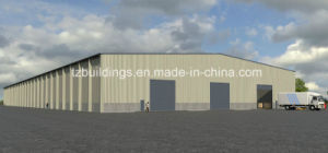 Prefabricated Steel Structure Warehouse Drawing pictures & photos