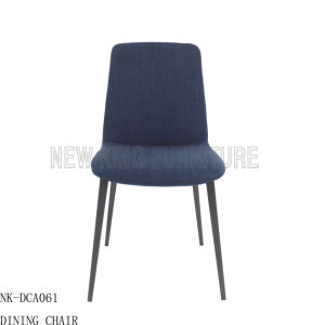 Home Stainless Steel Fabric High Back Dining Room Chair (NK-DCA061) pictures & photos