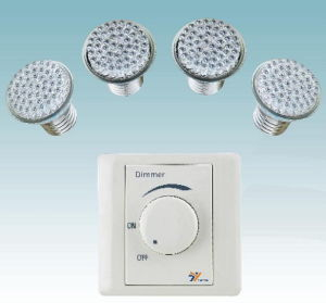 LED Lamp with Dimmer