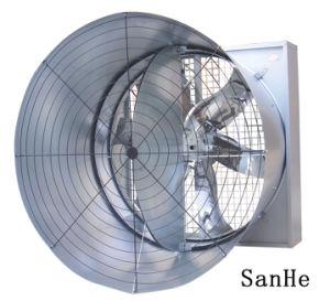 Ventilation Cone Exhaust Fan/Double Door Cone Fan/Butterfly Cone Fan/Cone Exhaust Fan pictures & photos