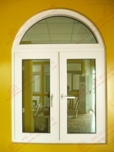 High Quality UPVC/PVC Arch Casement Window (BHP-CWA02) pictures & photos