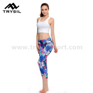 2017 Fashionable Women Sport Leggings Latest Yoga Pants Fitness Pants for Ladies pictures & photos