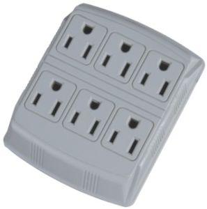 6 Ways TV Power Socket Plug pictures & photos