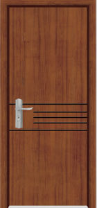 Solid Wooden Door (YFM-8006) pictures & photos