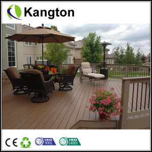 Outdoor Wood Plastic Composite Deck Board (WPC deck board) pictures & photos