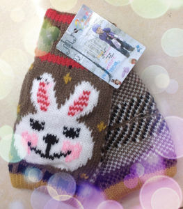 Warm Fashion Knitted Gloves - Wf027